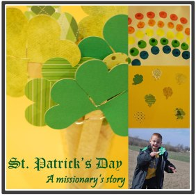 St. Patrick's Day Thematic Unit {DaddysTractor.com}