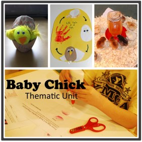 Baby Chick Thematic Unit  {DaddysTractor.com}