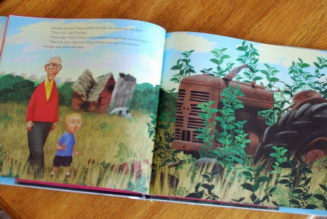 A great farm book for a tractor lesson plan