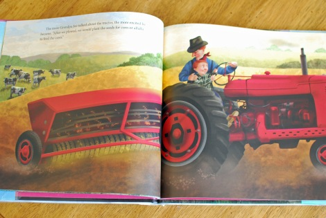 A great book for a tractor lesson plan