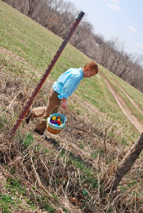 Easter at Grandma's Farm