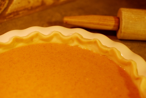 After five attempts this girl finally found the perfect pumpkin pie recipe!