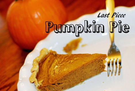 After five attempts, this girl finally found the perfect pumpkin pie recipe!