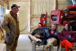 ALOT class visits Marshall Farms
