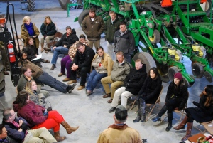 ALOT group visits Marshall Farms
