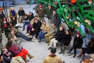 ALOT group visits Marshall Farms