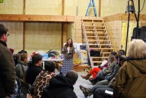 ALOT visits Marshall Farms
