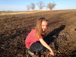 planting time on the farm