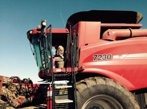 Anna in the combine