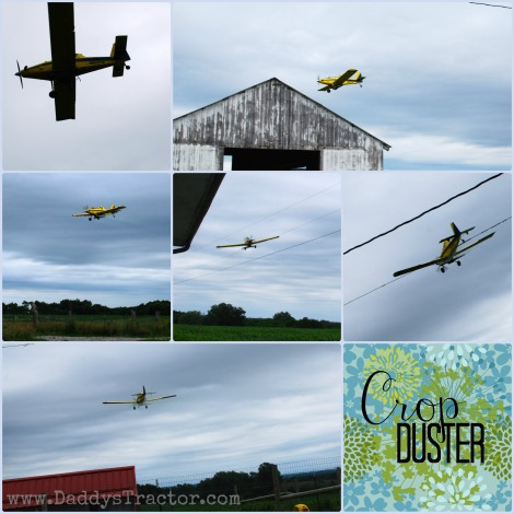A crop duster visits our farm!