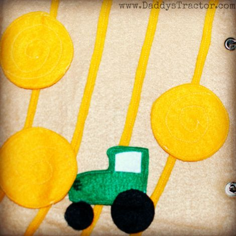 """Ideas for """"On the Farm"""" quiet book from felt."""